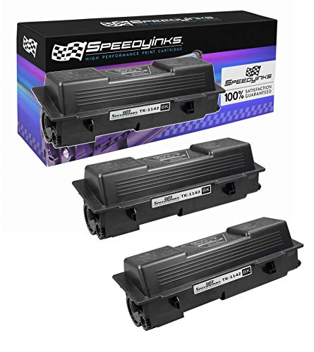 Speedy Inks Compatible Toner Cartridge Replacement for Kyocera-Mita Black TK-1142 (Black, 3-Pack)