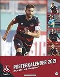 1. FC Nürnberg Posterkalender Kalender 2021