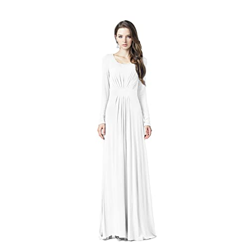 dde9bedae Charm Your Prince Women s Designer Round Neck Long Sleeve Maxi Dress