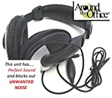 Around The Office Perfect-Sound Transcription Headset Designed to fit Olympus Model DT200 Transcriber