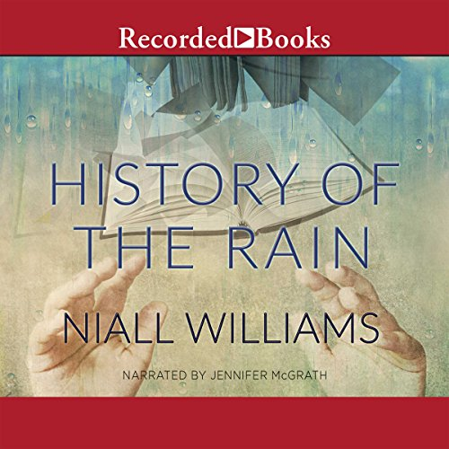 History of the Rain audiobook cover art