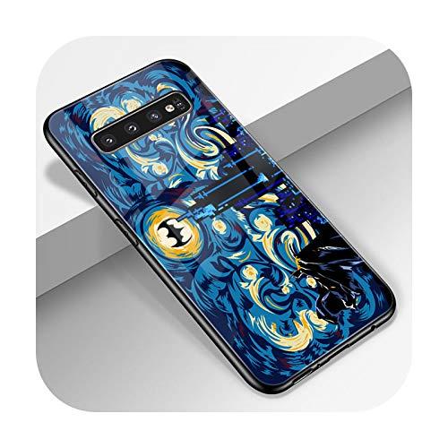 Phonecase - Carcasa para Samsung Galaxy S10, A51, A71, A50, S9, S8, S7, S10E, S20, Ultra A40, A20E, A70, Note 20, 10, 9, 8 Plus, vidrio templado W1126-S7 Edge
