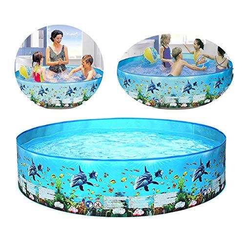 Shhjjyp Ocean Play Snapset Pool, Kinder Aufstellpool, Planschbecken Ab 3 Jahre,60 * 10inch