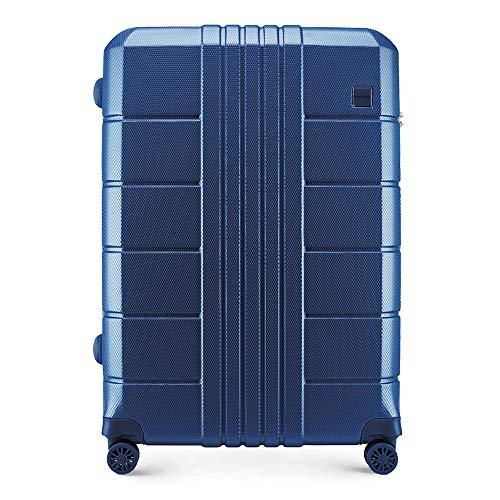 WITTCHEN Stabiele handbagage hardshell koffer trolley van Wittchen materiaal polycarbonaat 4 zwenkwielen lichtgewicht