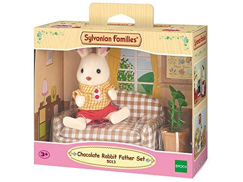 Sylvanian Families - 5013 - Set de sofá Frasier Conejo Chocolate