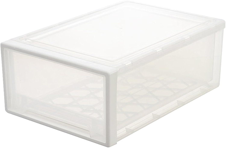 Ounona Aufbewahrungsbox aus Kunststoff Praktische Praktische Praktische Schublade Typ Organizer Box für Kleidung Spielzeug (transparent) B075F8LWLH   Beliebte Empfehlung  0811de