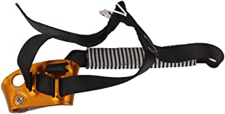 Yundxi Rope Grab Ascender 15KN Riser Adjuster Fits 11mm-13mm Rope for Rocking Climbing Tree Arborist Mountaineering Caving