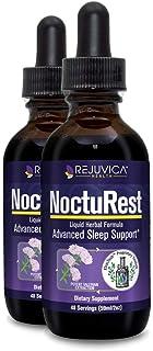 NoctuRest - Fast, Advanced Sleep Supplement - All-Natural Liquid Formula for 2X Absorption - Melatonin, Magnesium, Chamomi...