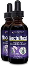 NoctuRest - Fast, Advanced Sleep Supplement - All-Natural Liquid Formula for 2X Absorption - Melatonin, Magnesium, Chamomile and More