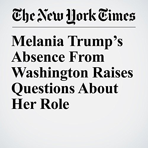 Melania Trump's Absence From Washington Raises Questions About Her Role copertina