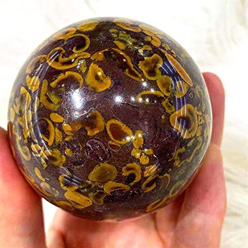 GHJGHJ Decoración de la Bola de la Bola de la energía del Cristal Natural del Cuarzo Decoración de la Sala de Regalo de la casa (Size : 450 500g)
