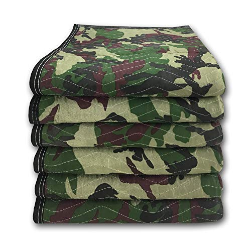 uBoxes Camouflage Moving Blankets 65lbs/doz