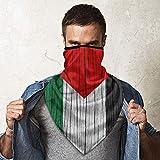 Palestine Wooden Texture Palestinian Flag Bandana Face Dust Mask for Women Men Headband Head Wrap Clothes Dress Half Balaclava Clothing Accessories Head Wrap Apparel Scarf