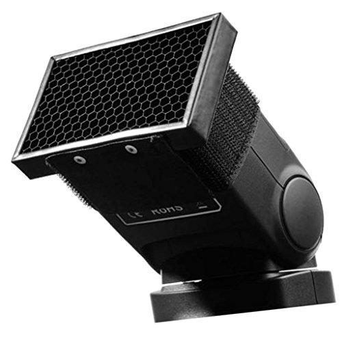 照明効果のため ハニカムグリッド ハニカムグリッドスピードライト 約8 * 1 * 4.3cm