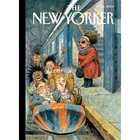 The New Yorker (Dec. 11, 2006) audiobook cover art