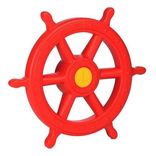 Gartenpirat timón Pirata XXL plástico Rojo Ø40cm Interior Ø54cm Exterior