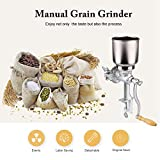 Cocoarm Getreidemühle Getreidequetsche Gusseisen Mahlwerk Mais Weizen Einstellbare Getreide Kaffee Nuss Mühle Brecher für Küche zu Hause - 4