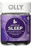 OLLY Restful Sleep Gummy Supplements, Blackberry Zen, GreatValue 3Pack ( 100 Count Each )