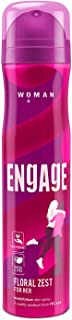 Engage Floral Zest Deodorant for Women, Citrus and Floral, Skin Friendly, 150ml