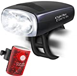 Cycle Torch Night Owl USB Rechargeable Bike Light Set, Perfect Commuter Safety Front and Back Bicycle Light...