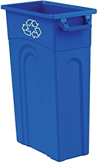 United Solutions TI0033 Highboy Recycling Container, 23 Gallon, 1 Pack, Blue