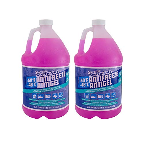 RecPro RV Antifreeze -50°F Protection Non-Toxic (2 Pack)
