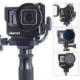 ULANZI V3 Estuche de aleación de Aluminio Vlogging para Gopro, Carcasa Protectora, armazón, armazón, Montaje de Marco para Gopro Hero 7 6 5 Accesorios de configuración Vlog
