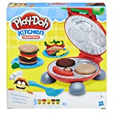 Hasbro Play-Doh-B5521EU6 Play-Doh Kitchen Creations Il Burger Set, Colore, 0816B5521EU6