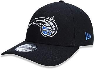 BONE 940 ORLANDO MAGIC NBA ABA CURVA SNAPBACK PRETO NEW ERA