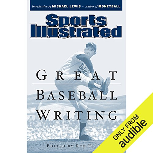 Great Baseball Writing audiobook cover art