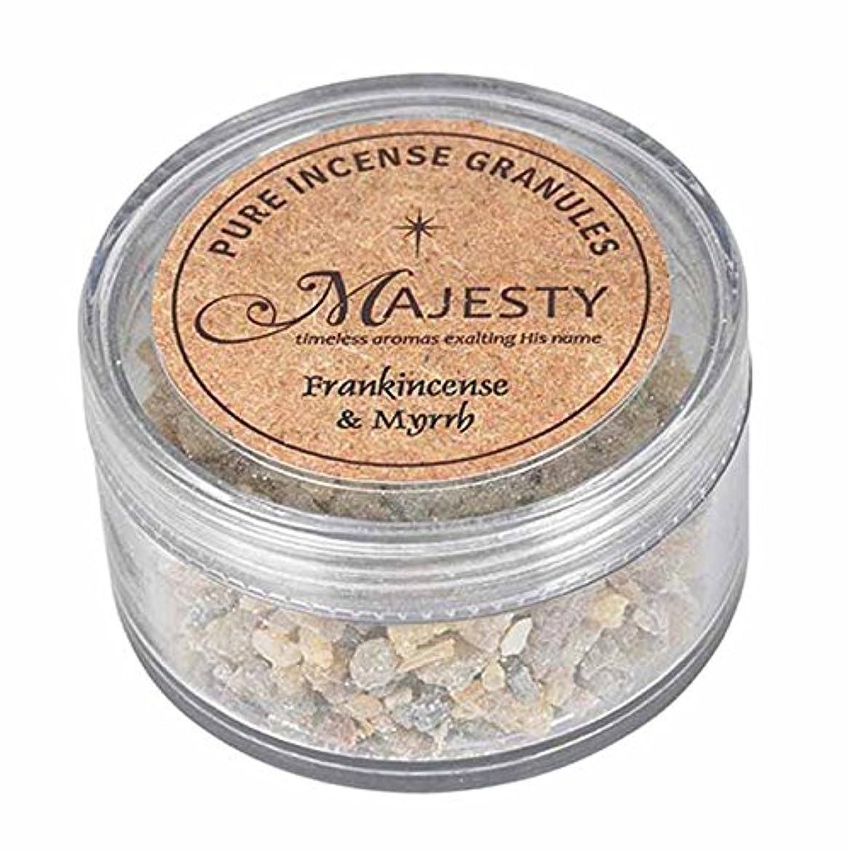 再生可能遅れ幸運なMajesty Incense : Frankincense and Myrrh