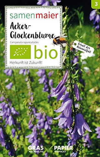 Samen Maier 3004 Acker-Glockenblume (Bio-Glockenblumensamen)