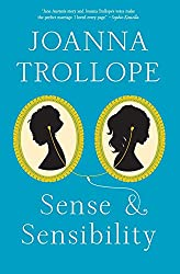 Sense and Sensibility by Joanna Trollope book cover