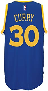 adidas Stephen Curry Youth Golden State Warriors Swingman Basketball Jersey (XL=18-20)