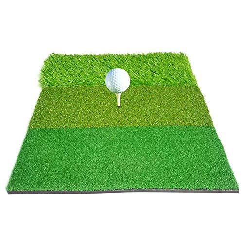 kelihood 4060cm Golf Übungsmatte Gras Abschlagmatte Und Standmatte 3-in-1 Leichtes Tragbares Langlebiges Zubehör