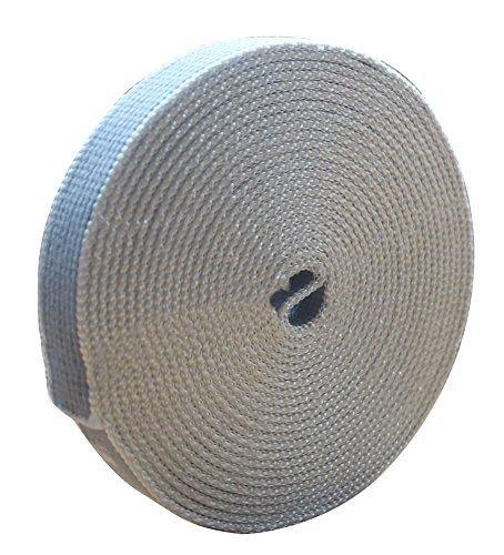 Schellenberg 10283 riem voor rolluiken, katoen, afmetingen 22 mm/5,5 m, donkergrijs