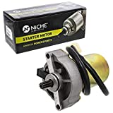 NICHE Starter Motor Assembly 453478 High Torque for 2007-2019 Polaris Outlaw Sportsman 90 110