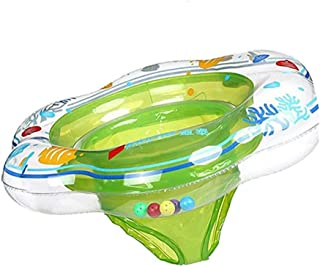 Conbo Baby Swimming Ring Floats with Safety Seat Double Airbag Swim Rings for Babies Kids Swimming Float Baby Floats for P...