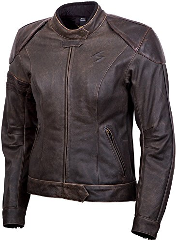 Scorpion Catalina Womens Brown Leather Jacket - X-Large