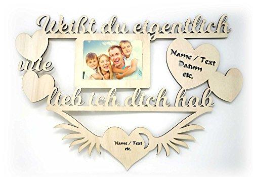 Geschenke für die Familie coole beste Familienmitglieder Vater Mutter Freundin Bester Freund Bilderrahmen 10 x 15 cm