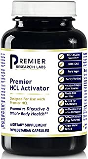 Premier Labs HCL Activator 180 V-Caps (2 Bottles) Vegan by Premier Research