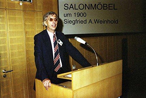 Salonmöbel um 1900: Otto Weinhold jr. Kunstmöbelfabrik 1879 - 1972 Olbernhau / Erzgebirge