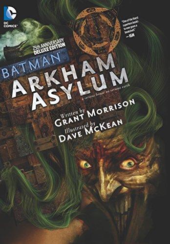 Batman Arkham Asylum 25th Anniversary Deluxe Edition HC