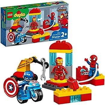 Lego Duplo Super Heroes Lab Marvel Avengers Superheroes Construction Toy