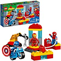 LEGO DUPLO Super Heroes Lab 10921 Marvel Avengers Superheroes Construction Toy and Educational Playset for Toddlers, New...