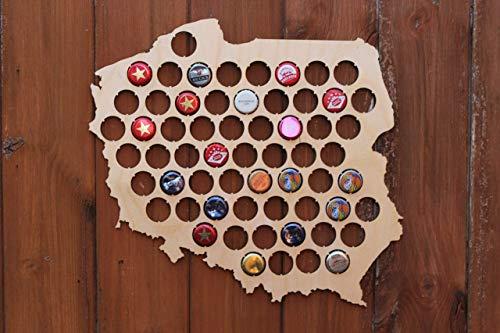 Polen Bier Cap Karte