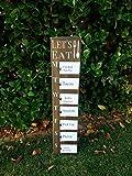 CELYCASY Meal Planner, Rustic menu Board, Weekly Meal Planner, menu Sign, Meal Planning, Wall Mount menu Board, Wooden menu Sign, Daily Meal Planner