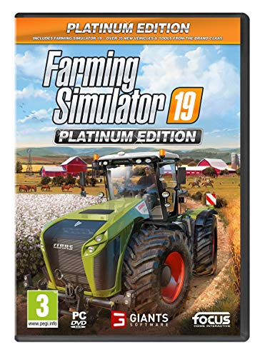 Farming Simulator 19 Platinum Edition PC DVD [Edizione: Regno Unito]