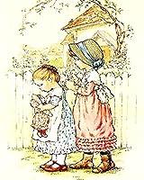 大人のためのDIY5Dダイヤモンド絵画キット漫画の小さな女の子のクロスステッチキットラインストーン壁の装飾のための工芸品手作りのクリスマスプレゼント(正方形、30×40)