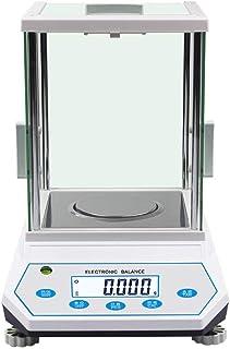 LJP Báscula Digital de Joyería, 500g / 0.001g Alta Precisión Analítico Equilibrar Oro Médico Científico Laboratorio Multifuncional Peso (Capacity : 500g/0.001g)